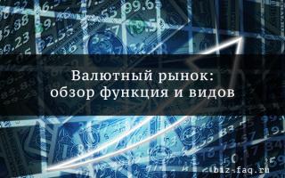 Российский валютный рынок