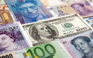 Формирование валютного курса рубля