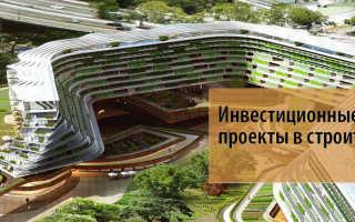 Управление инвестициями в строительстве