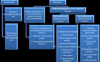 Способы и источники привлечения капитала